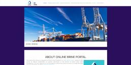 online brine portal | web idea
