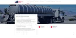 Anemos service apartment buildings website | web idea