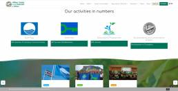 Hellenic society for the protection of nature website | web idea
