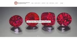 Gem testing lab athens website | web idea
